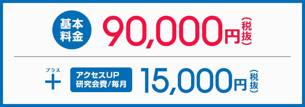 基本料金80,000円から!!